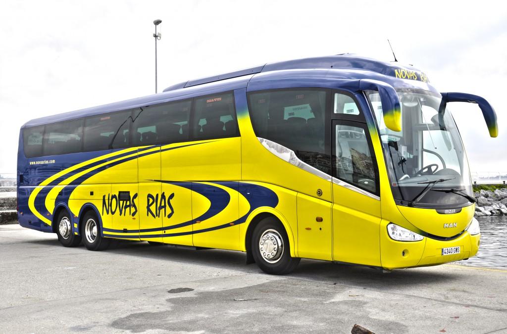 Alquiler de autobuses en pontevedra para clubes deportivos for Servicio tecnico roca pontevedra